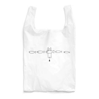 さかなたべるねこ Reusable Bag