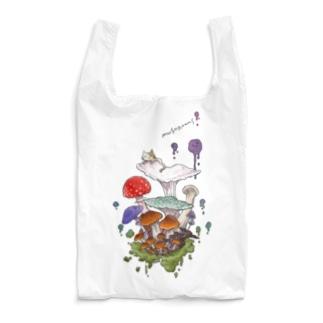 キノコねこ Reusable Bag