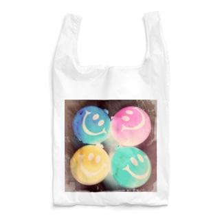 zakkaya 雑貨屋 孵 kaeruのにこにこスマイル。密です! Reusable Bag