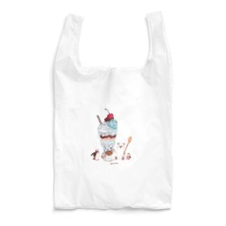イラストレーター おおでゆかこのチョコミントパフェ Reusable Bag