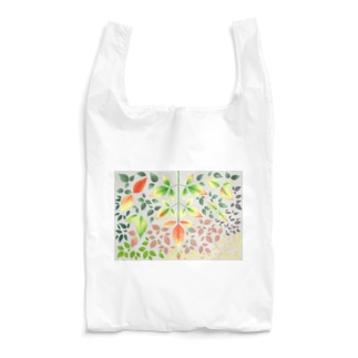 colorful leaves Reusable Bag