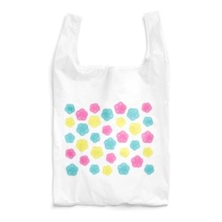 カラフルポップ水引梅結び Reusable Bag