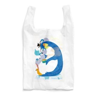 Penguin Tea Time Reusable Bag