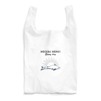 MECCHA NEMUI さめ Reusable Bag