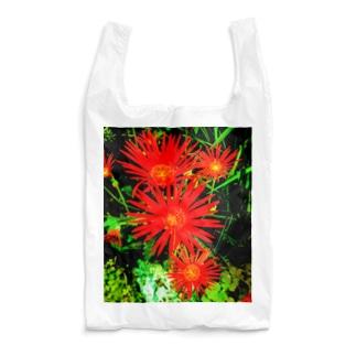 赤い花 Reusable Bag
