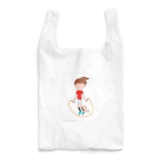 縄跳びアンとワンちゃん Reusable Bag