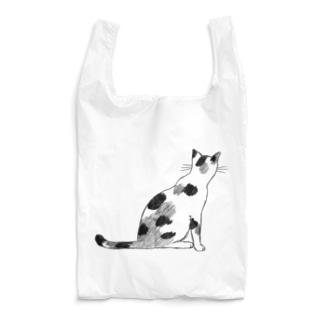 猫(後ろ姿) Reusable Bag