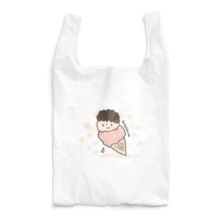 つめたいアイスのチャーリー Reusable Bag