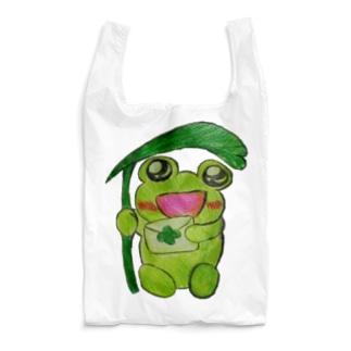 やんわり店舗(アリサ)の読むあめかえる Reusable Bag