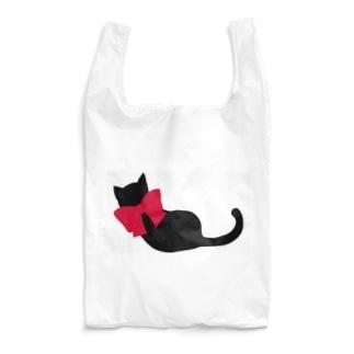 黒猫 Reusable Bag