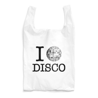 カマラオンテのI LOVE DISCO Reusable Bag