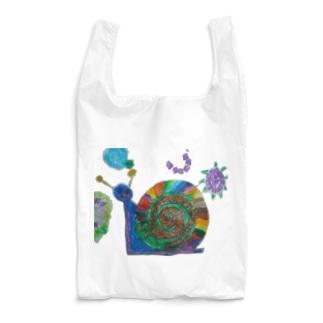 でんでんむしむしカタツムリ Reusable Bag
