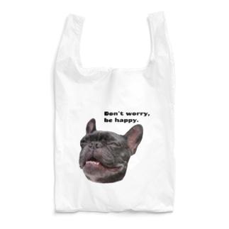 根拠なくポジティブな犬 Reusable Bag