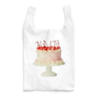 大きなぴんくのケーキ Reusable Bag