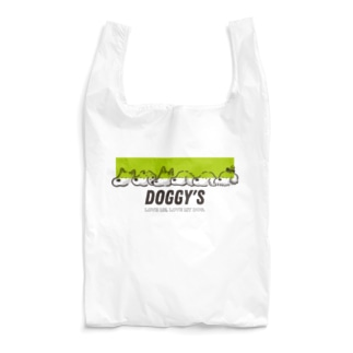 DOGGY'S グリーンver. Reusable Bag