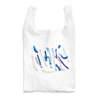こどもが描いた水彩 雨 Reusable Bag