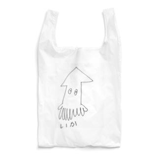 いか Reusable Bag