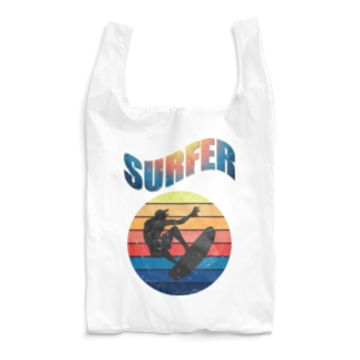 カマラオンテのsurfer サーファー 波乗り サーフィン 海 夏 Reusable Bag