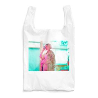 aqua kimono kitchen Reusable Bag