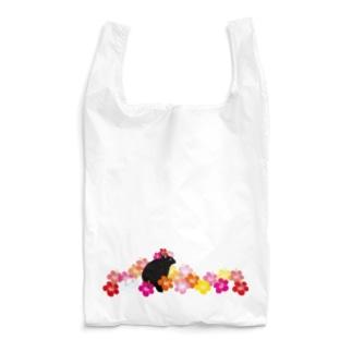 NEW!ハイビスカスクロウサギ Reusable Bag