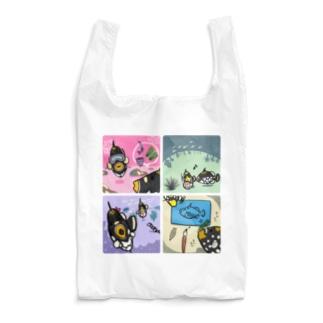 モンちゃんの楽しそうな日常 Reusable Bag