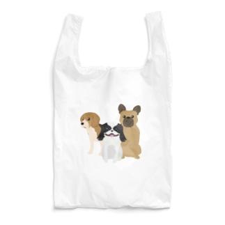 わんちゃん集合! Reusable Bag