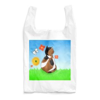 野原の三毛猫さん Reusable Bag