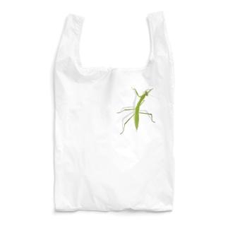 カマキリついてるよ! Reusable Bag