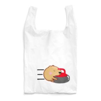 きゃぴばら【カーリング】 Reusable Bag