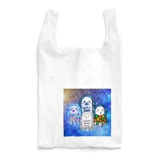 アマビエさんオールメンバー大集合! Reusable Bag