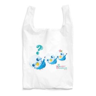 Sweet Budgerigar/?(ハテナ) Reusable Bag