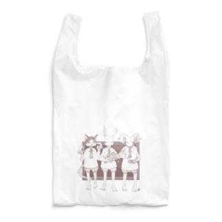 お茶会 エコバッグ Reusable Bag