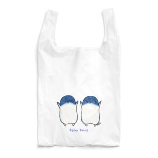ふたごのフェアリーペンギン(ロゴあり) Reusable Bag