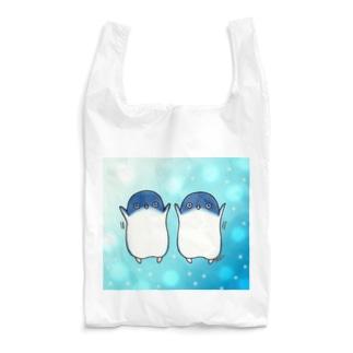 ふたごのフェアリーペンギン(kirakira) Reusable Bag
