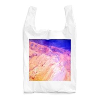 NEON LIGHT STARSの鉱物エメラルドサファイヤウルトラマリン Reusable Bag