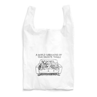 大好きなモノに囲まれた世界 Reusable Bag
