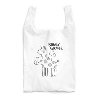 バグッたキリン(かっこいい英語) Reusable Bag