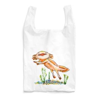 こどはりみのあるウーパールーパー Reusable Bag