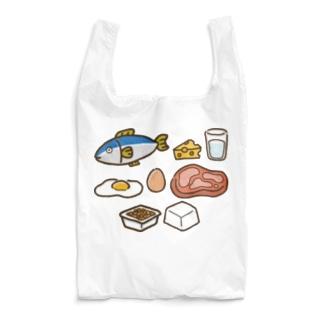 タンパク質を多く含む食品 Reusable Bag