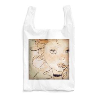 馬小屋の女の子 Reusable Bag