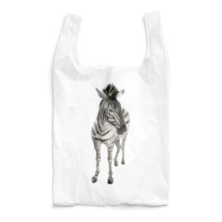 Animals シリーズ 〜グラントシマウマ〜 Reusable Bag