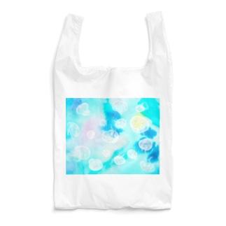水族館のミズクラゲ Reusable Bag