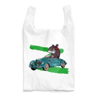 RACING KNUCKLE BEAR Reusable Bag