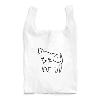 ゆるチワワ(クリア) Reusable Bag