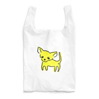 akane_art(茜音工房)のゆるチワワ(イエロー) Reusable Bag