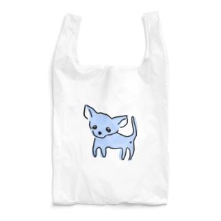 ゆるチワワ(ブルー) Reusable Bag