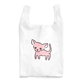 akane_artのゆるチワワ(ピンク) Reusable Bag