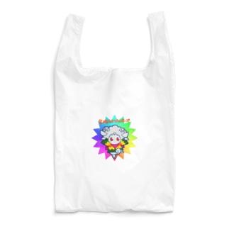 荒ぶるヒツジのポーズ Reusable Bag