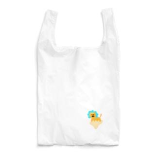 ゆるあしゆびらいおん(あお) Reusable Bag