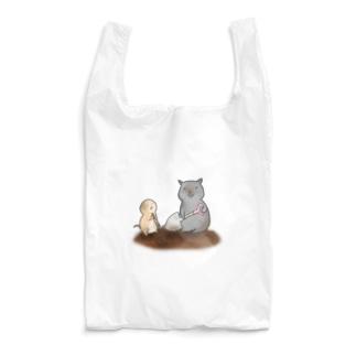 穴掘りの匠~ウォンバットさんといっしょ~ Reusable Bag